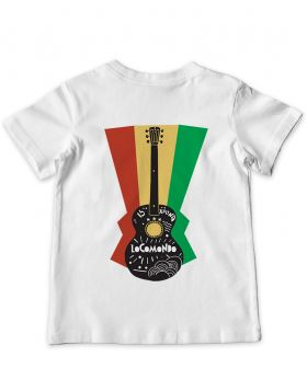Locomondo (Kids 9-11) White Anniversary T-shirt