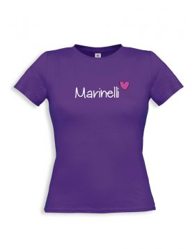 Marinelli purple t-shirt