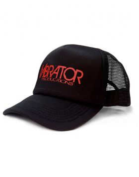 Vibrator Productions Red Logo Trucker Hat