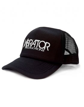 Vibrator Productions White Logo Trucker Hat