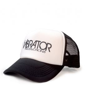 Vibrator Productions Black Logo Trucker Hat